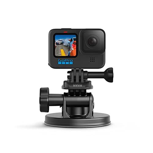 GoPro Front Saugnapfhalterung - gebogene, vertikale Schnellspannschnalle, 2 x Schwenkarme, Rändelschrauben (Offizielles GoPro-Zubehör)