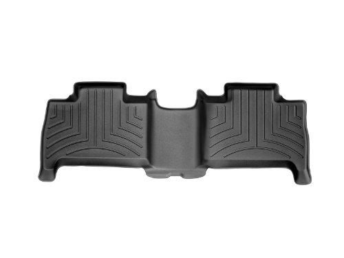 WeatherTech Custom Fit Rear FloorLiner for Hummer H3 (Black)