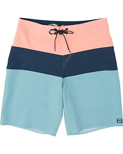 BILLABONG™Tribong Pro Solid 19' - Colour-Blocked Board Shorts - Men - 34...