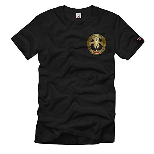 Brustabzeichen Pioniere Bundeswehr Auszeichnung Einheit Wappen - T Shirt #988, Größe:XL, Farbe:Schwarz