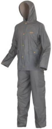 Coleman PVC Rain Suit Grey Adult Medium