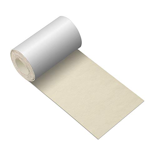 Leather Repair Tape 3X60 inch Patch Leather Adhesive for Sofas, Car Seats, Handbags, Jackets,First Aid Patch (Beige)