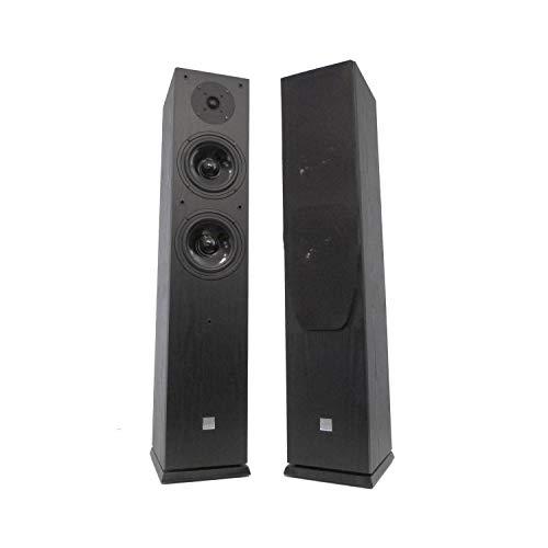 Koda Paar Schwarze Lautsprecher HiFi/Heimkino 2x120W
