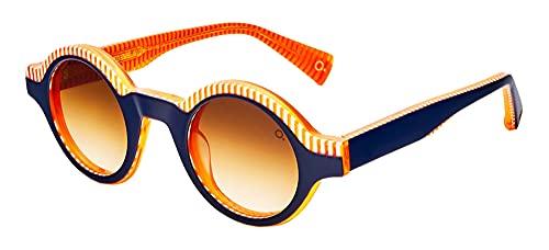 Etnia Barcelona Gafas de Sol THE EINSTEIN Orange Blue/Orange Brown Shaded 44/25/147 unisex