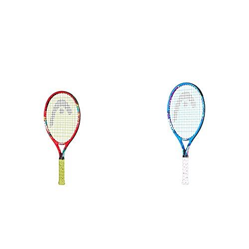 Head Novak 21 Raqueta de Tenis, Juventud Unisex, Multicolor, 4-6 años + Maria 23 Raqueta de Tenis, Juventud Unisex, Multicolor, 6-8 años