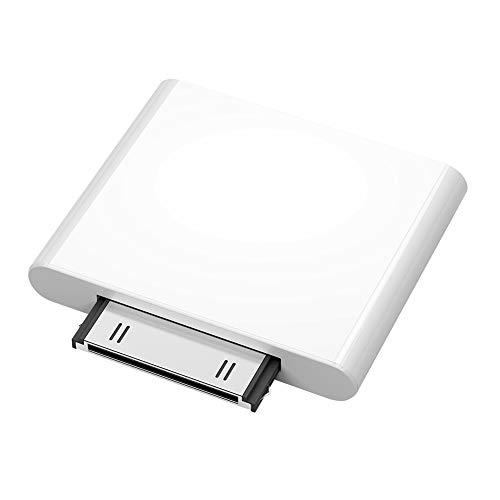 Milnnare Adaptador Dongle Audio Inalámbricos Transmisor Bluetooth para iPod Classic/Touch - Blanco