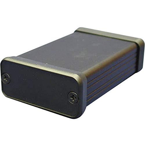 Hammond Electronics 1455L2201BK Profil-Gehäuse 223 x 103 x 30.5 Aluminium Schwarz 1 St.