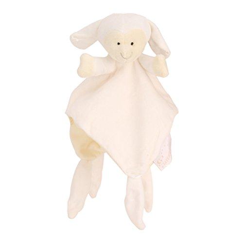 YeahiBaby Fasciatoio per neonati, pupazzo di agnello di peluche, per neonati (giallo)