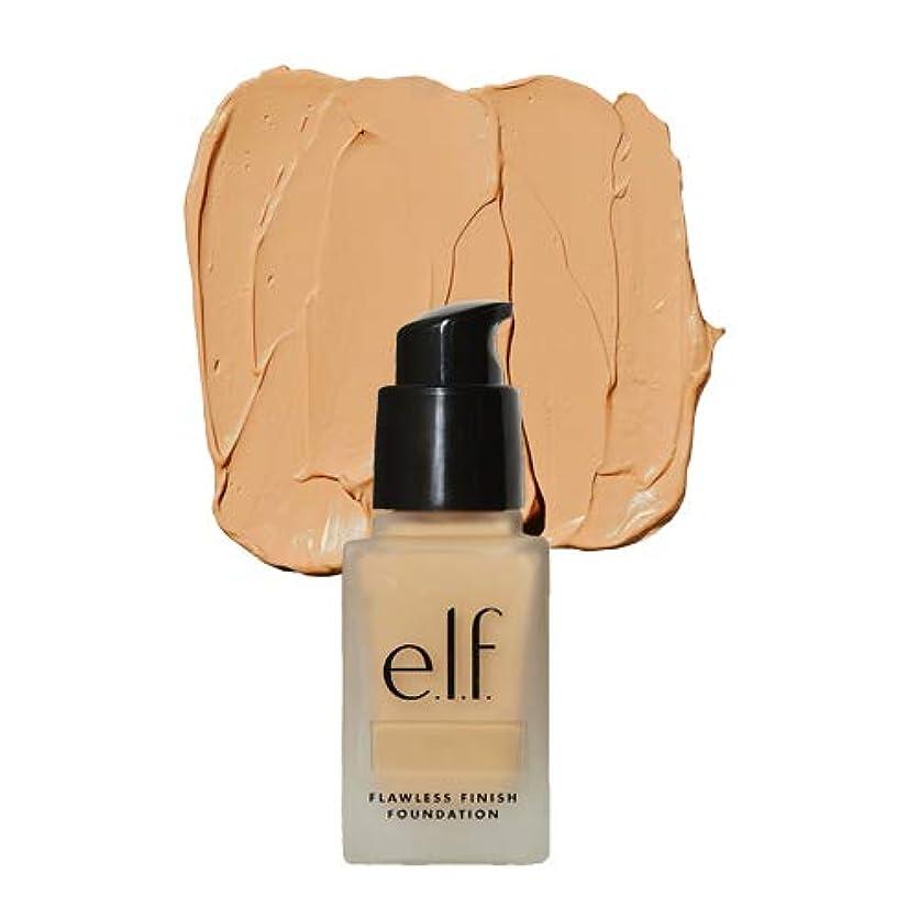 悪質な可決菊(3 Pack) e.l.f. Oil Free Flawless Finish Foundation - Buff (並行輸入品)