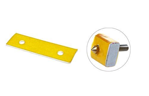 PAD ISOLANTE COTONE 3mm PER STAMPANTE 3D isolamento termico calore estrusore