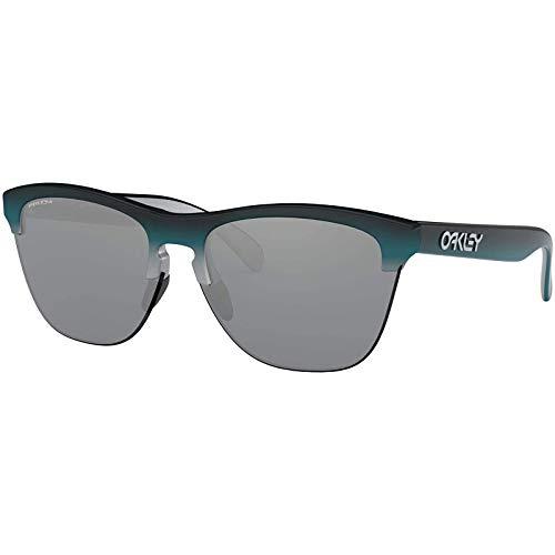 OO9374 Frogskins Lite Sunglasses, Matte Black/Prizm Grey, 63mm