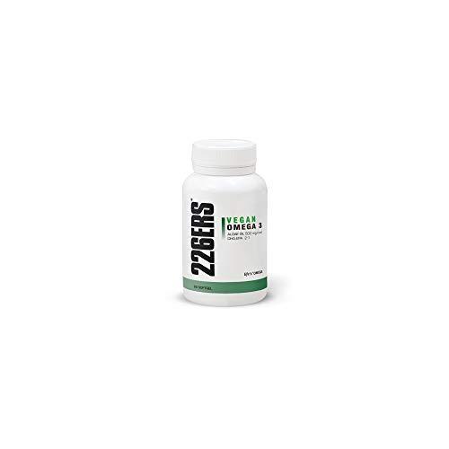 226ERS Vegan Omega 3 Algae Oil | Aceite de Algas con Omega 3, DHA/EPA | Apto para Embarazadas, Lactantes, Bebés, Niños y Adultos - 60 Cápsulas de Omega 3 Vegano