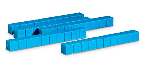 Learning Resources Plastic Base Ten Rods, Set of 50