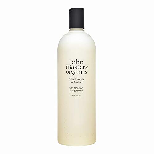 John Masters Organics Romero y desenredante menta, acondicionador, 473ml
