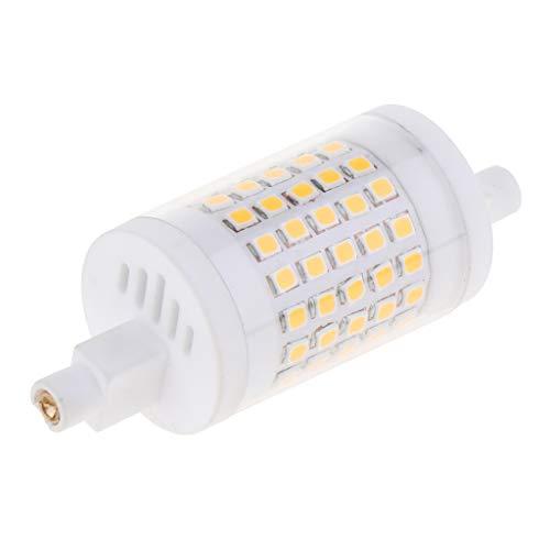 perfk R7S PC 10W / 15W Ampoule Projecteur LED Lumière Blanc Chaud pour Jardin, Couloir - Blanc Chaud 10W