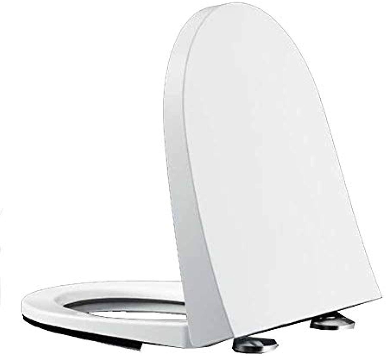Yanlf Harnstoff-Formaldehyd-Toilettensitz Universal-WC-Abdeckung U-V-Typ Verdickung WC-Schüssel Abdeckung,D