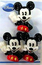 ディズニーボタン3個付き DW009 ミッキー
