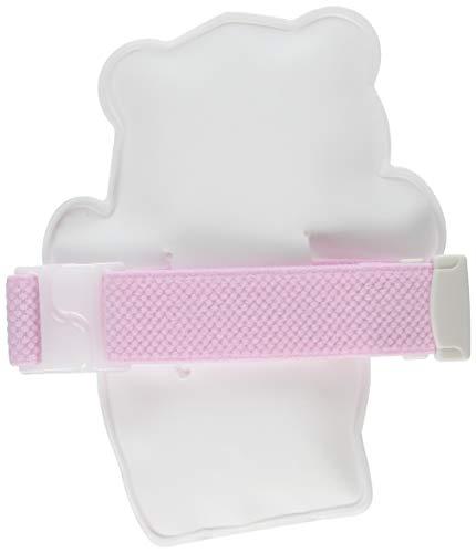 クロスハーツ保冷材ひえクマランチバンド付白×ピンク