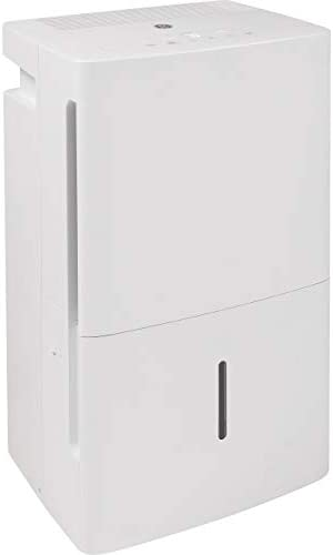 GE ADEL35LZ GE 35 Pint Energy Star Dehumidifier with Digital Controls for Very Damp Rooms White product image