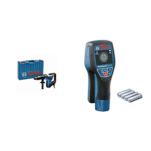 Bosch Professional Martillo perforador combinado GBH 5-40 D + Bosch Professional Detector de pared D-tect 120