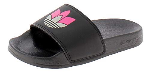 adidas Adilette Lite W, Zapatillas de Running para Mujer, Cblack Gretwo Shopnk, 37 EU