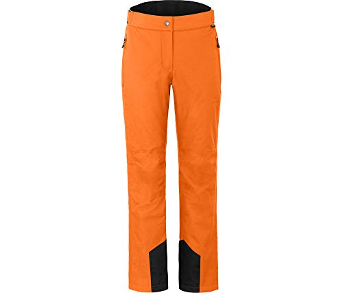 Bergson Damen Skihose LIVE, Persimmon orange [513], 48 - Damen
