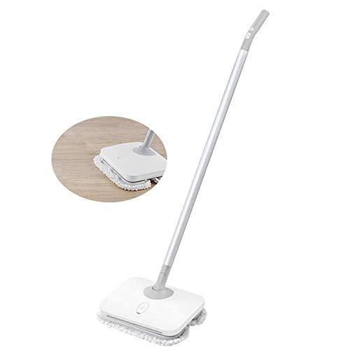 Elektrische Mop, Wireless Handheld Floor Cleaner, Vloer Vloerbedekking Window Washer met 14 LED verlichting for Home for Tegel en Hardwood, kan draaien 180 graden XIUYU