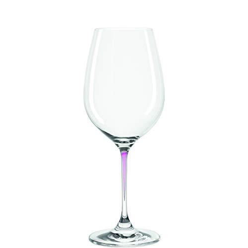 Set de 2 verres à vin Perla, Leonardo - Couleur - Violet