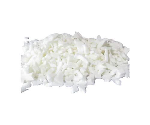 pemmiproducts Latex Schaumstoff Flocken aus 100% Kautschuk, Weiss, 10 kg, (EUR 5,25/kg), waschbar, Latexflocken geeignet als Füllmaterial für z.B. Plüschtiere, Puppen, Bären, Kissen usw.