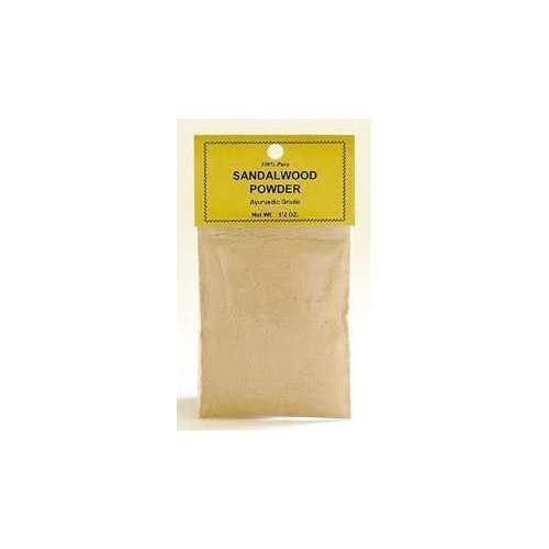 Sandalwood Powder ~ 100% pure ~ Ayurevedic ~ 1/2 oz by Ravenz Roost