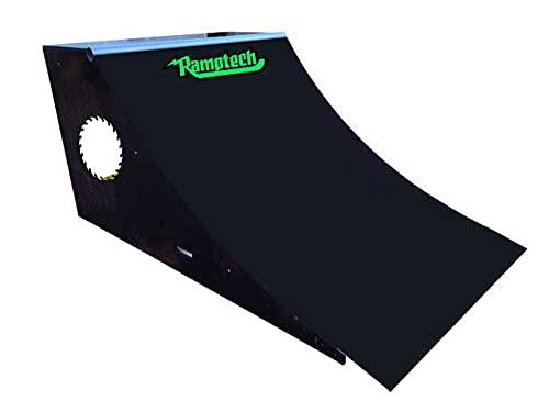 Ramptech 3' Tall x 4' Wide Quarterpipe Skateboard Ramp
