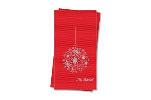 Servilletas de Papel Rojas Navidad Marca chiner