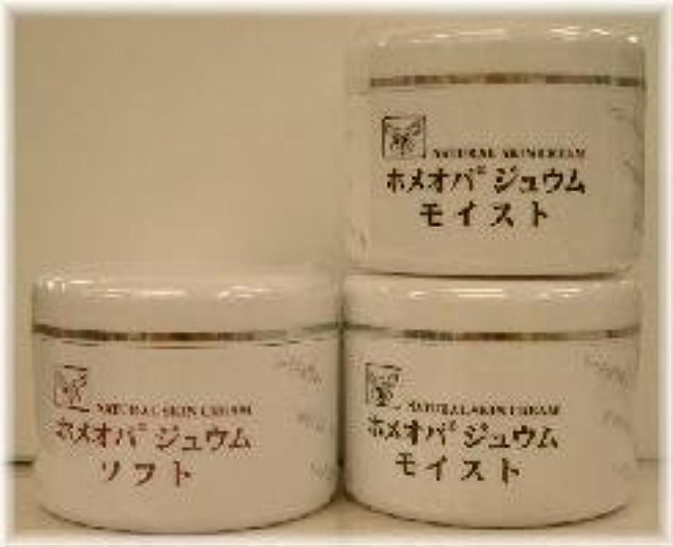 手数料朝平和なホメオパジュウム スキンケア商品3点 ¥10500クリームモイスト2個+クリームソフト