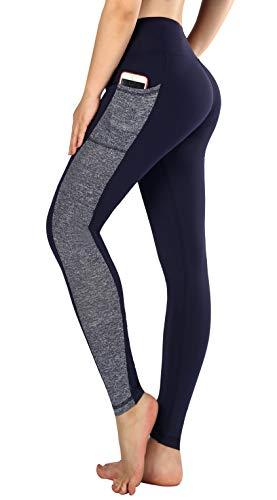 Sugar Pocket Women's Basic Yoga Leggings Gym Workout Trousers Running Pants L(0717)