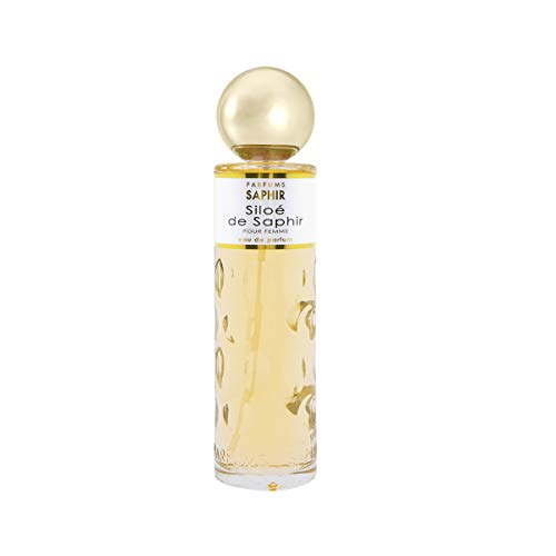 PARFUMS SAPHIR Siloé de Saphir Eau de Parfum con Vaporizzatore da Donna, 200 Ml