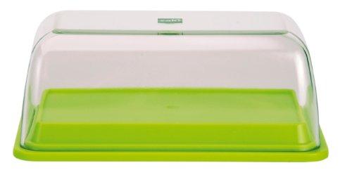 Zak ! Designs 0989-J761 Beurrier / Boîte 2 en 1 SAN + Mélamine Vert Anis