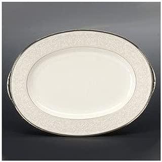 Noritake Silver Palace Oval Platter