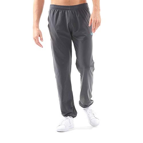 SPORTKIND Boys & Men's Tennis/Fitness/Sports Jogging Pants, Dark Grey, Size 10 Years