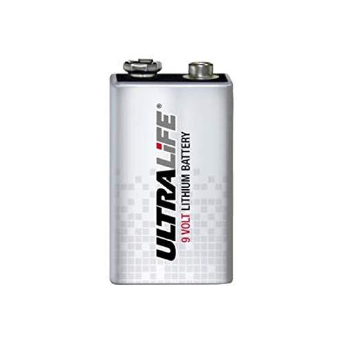 Lithium Batterie Ultralife Typ SLM9V 9V-Block, Lithium, 9V