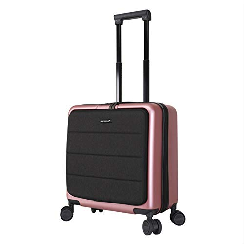 Suitcase Mini Fine-tuning Travel Rod Soft Shell Hard Shell Luggage With TSA Lock Hard Shell Light Portable With Column Silent Rotator Multi-directional Aircraft Boarding Travel Luggage Case