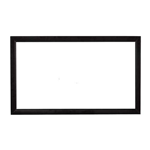 Release Pantalla de proyector acústicamente Transparente Sonido acústico Tejido Transparente Aleación de Aluminio Perforada Flocado Marco Fijo (Size : 180 Inch)