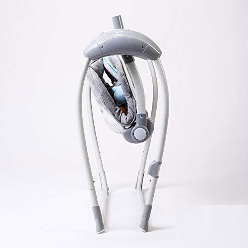 Balancelle/transat bébé Electrique LILOU 2 : MP3 + télécommande + chargeur