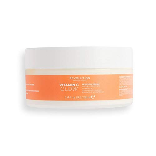 Revolution Body Skincare Vitamin C Glow Moisture Cream 200ml
