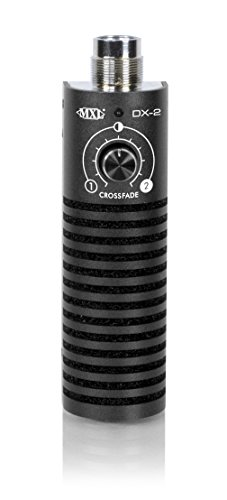 MXL DX-2 Dual Capsule Variable Dynamic Instrument Microphone