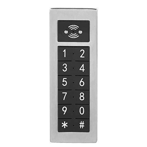 Garsent Digitaal slot voor wachtwoorden, elektronisch toetsenbord, gecodeerd roestvrij stalen slot voor de opbergkast op kantoor, in de sauna, in de sportschool en in de school-alarmfunctie