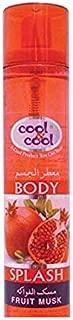 Cool & Cool Body Splash Fruit Musk 160 ml