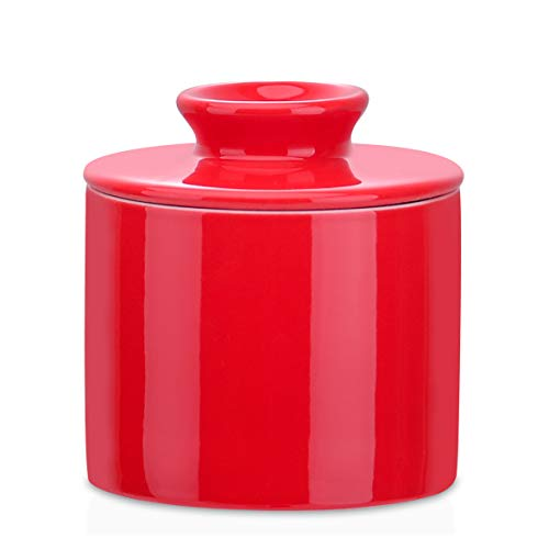 LOVECASA ,Butter Keeper Crock - Porcelain French Butter Dish with Lid,...