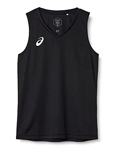 [アシックス] トレーニングウエア ノースリーブシャツ XA6234 [メンズ] ブラック 日本 L (日本サイズL相当)