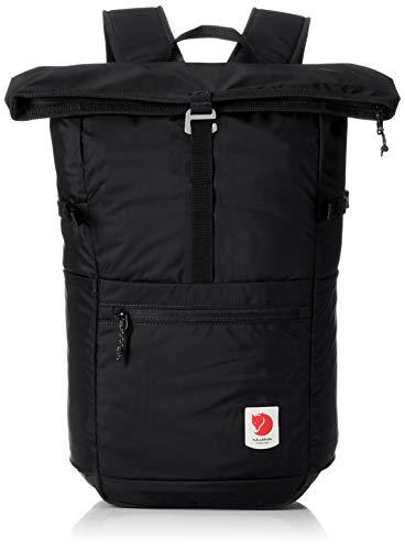 FJALLRAVEN Unisex_Adult High Coast Foldsack 24 Daypack, Black, One Size