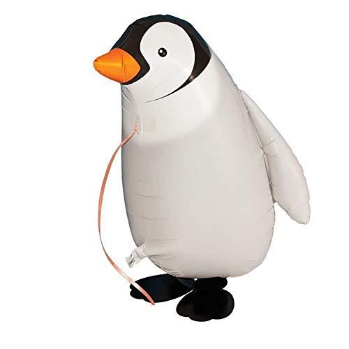 ZLJTT 1Pc Carino Pinguino Ambulante Palloncino Foil Compleanno Decorazioni per Feste di Matrimonio Palloncini Palloncini Gonfiabili per Bambini Giocattoli Regali, A